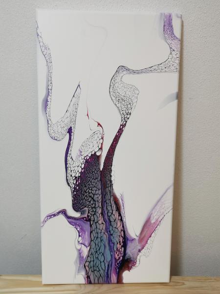 <p>Acryl abstrakt pouring Technik Sheele Art geswipt und LW 30 x 60cm Einzigartig und ein UNIKAT</p>  <p>110&euro;&nbsp;</p>