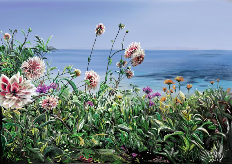 Blumen-Meer