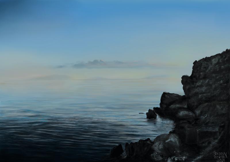 Die endliche Unendlichkeit am Meer