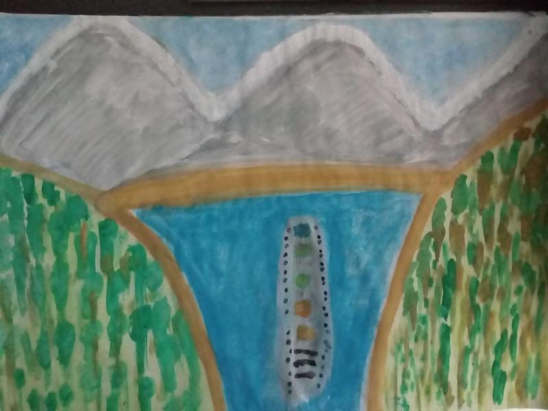 Berge, See, Schiffe.