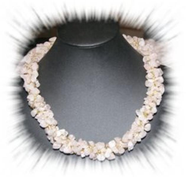 gehäkelte Halskette