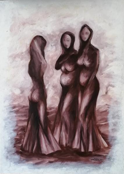 3 woman