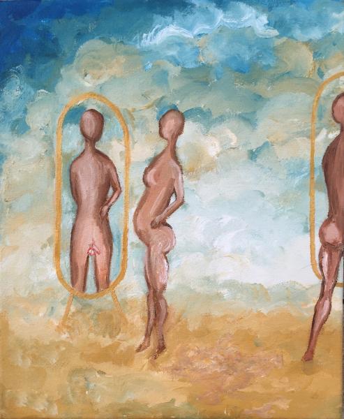 Flagrant mirror