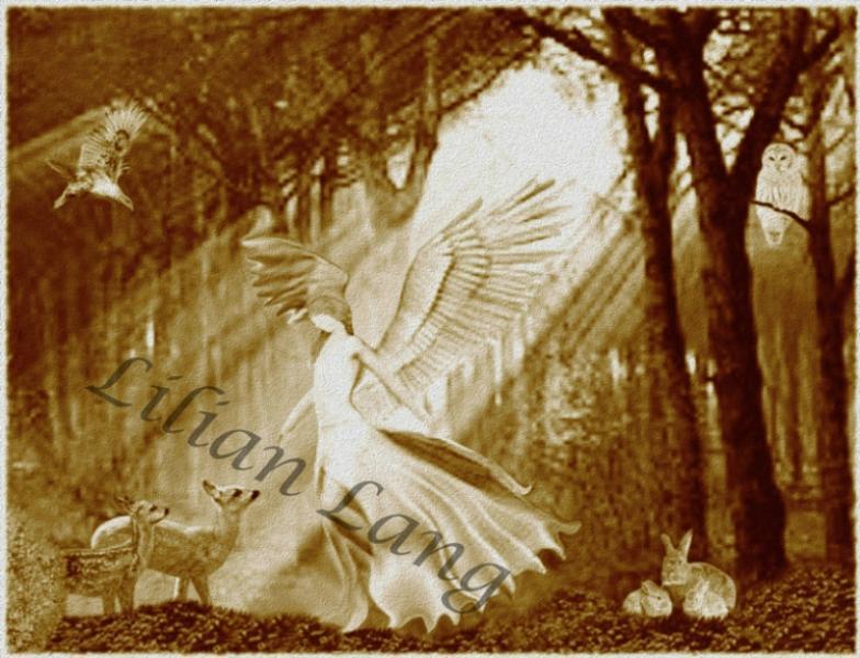Engel der Waldtiere