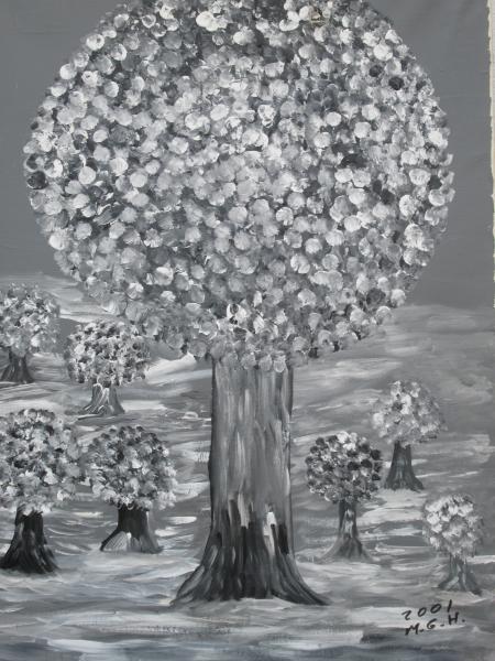 Baum mit 7 Kleinen