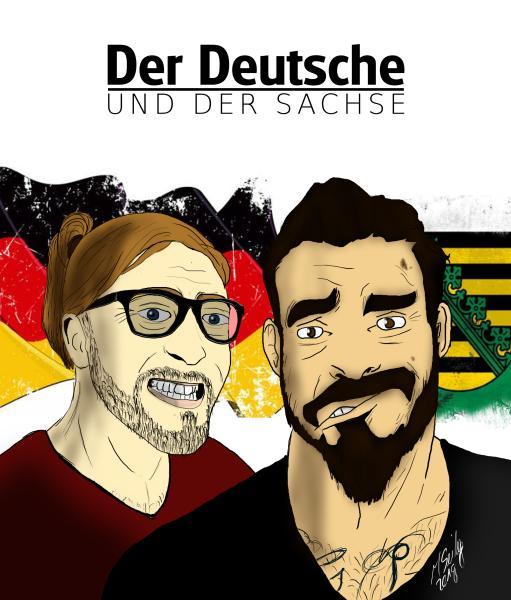 Der Deutsche und der Sachse