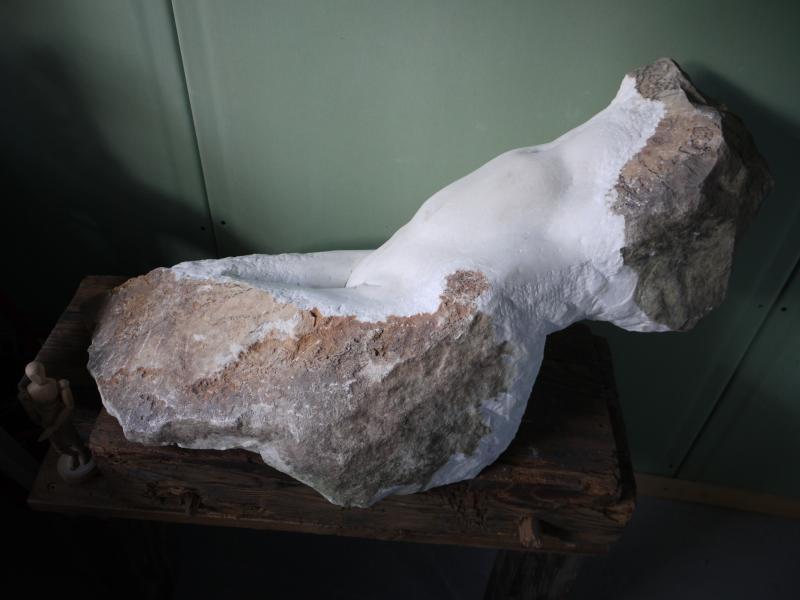 weißer Torso