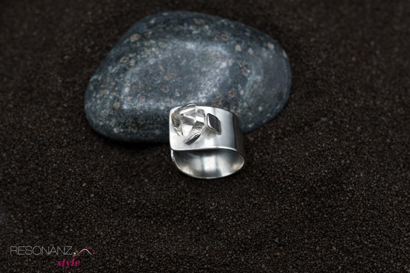 Herkimer Diamant Ring