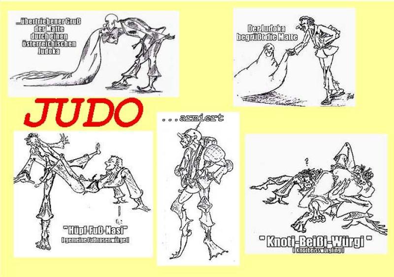 Sammler ' JUDO ' , A3, Tusche, nur Einzelmotive ab A4 schw./wß.: 155,00 €