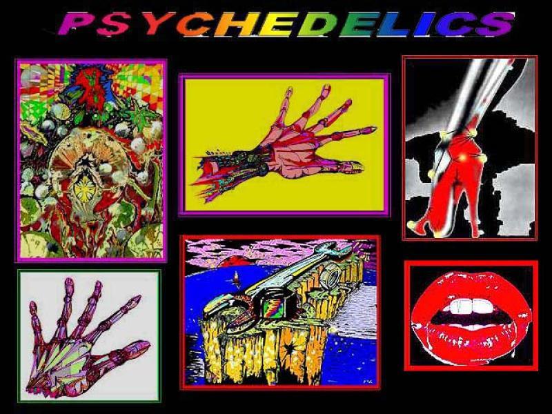 Sammler ' PSYCHEDELICS ', A3, Tusche/Filz, digit. bearbeitet, Repro bis A2 : 890,00 €; Einzelmotive folgen;