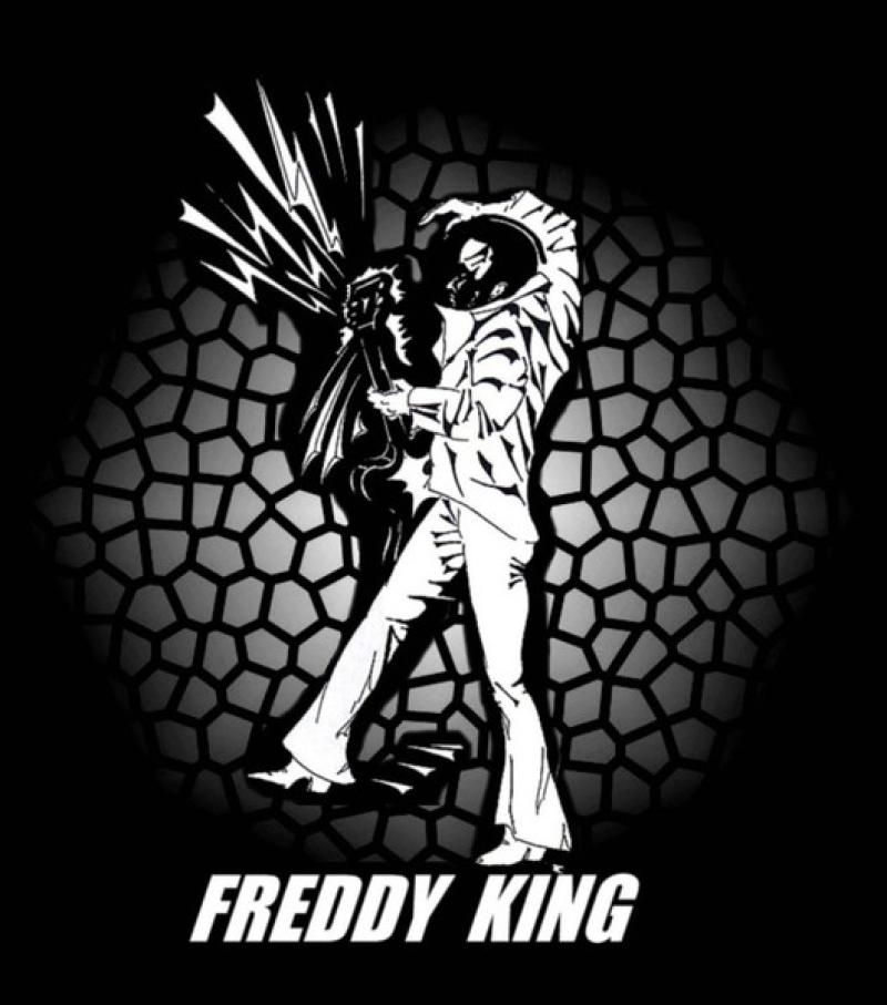 Blues- Serie: ' FREDDY KING ',  A3, digit. bearbeitet, Repro bis A1 : 2490,00 €