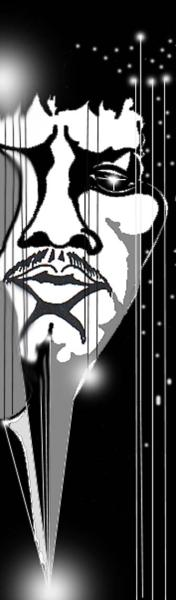 Blues- Serie: ' HENDRIX 2 ',  A3, digit. bearbeitet, Repro bis A1 : 2490,00 €