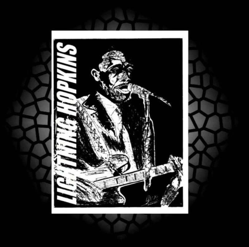 Blues- Serie: ' LIGHTNING HOPKINS ',  A3, digit. bearbeitet, Repro bis A1 : 2490,00 €